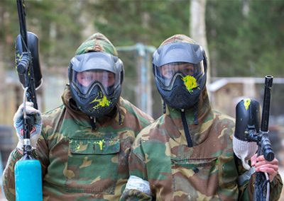 Dažasvydis Paintball Tankodromas